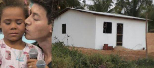 Reviravolta: Record rebate menina que ganhou 'casa feia' e o que diz choca