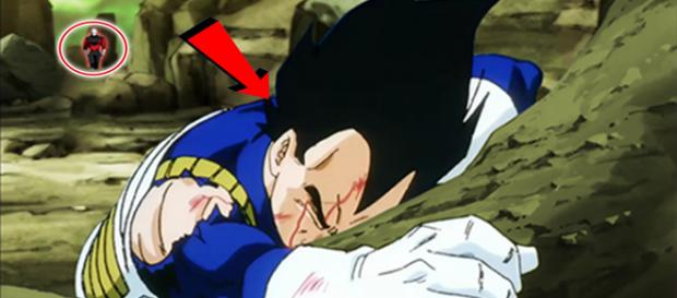 Vegeta es derrotado por Jiren - Dragon Ball Super capítulo 122