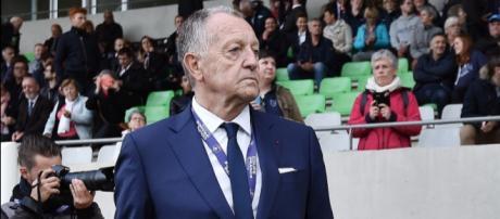 Jean-Michel Aulas veut revoir son protégé à Lyon.(DR).