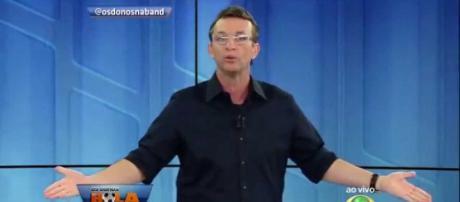 Neto teve dois programas na lista dos piores da TV. (Foto Reprodução).