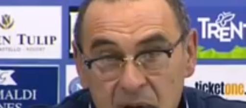 Il tecnico del Napoli, Maurizio Sarri