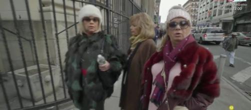 Las Campos paseando por Nueva York