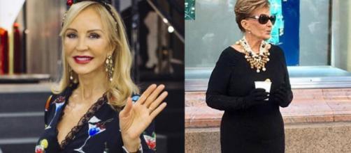 """Medio Nueva York se ríe de Mª Teresa Campos"""", según Carmen Lomana ... - elespanol.com"""
