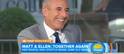 NBC tightens up sexual harassment policies in light of Matt Lauer scandal Photo via YouTube from the TODAY show.