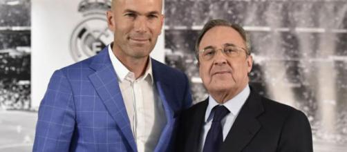 Zidane y Florentino en gran controversia.