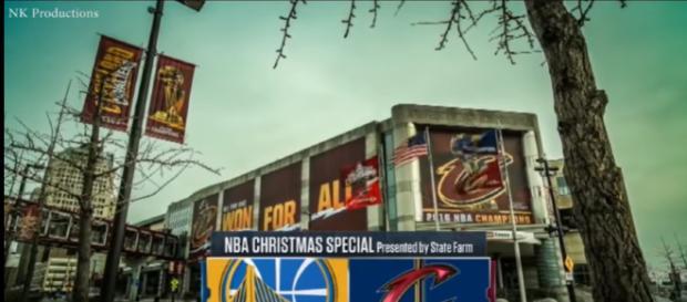 Cleveland Cavaliers - Image credit - NVA Dunks   YouTube