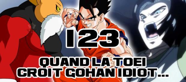 DBS 123 : Quand la Toei croit Gohan totalement idiot...