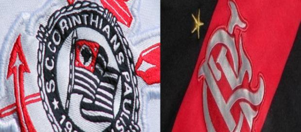Flamengo e Corinthians pretendem anunciar bons reforços. (Foto Reprodução).
