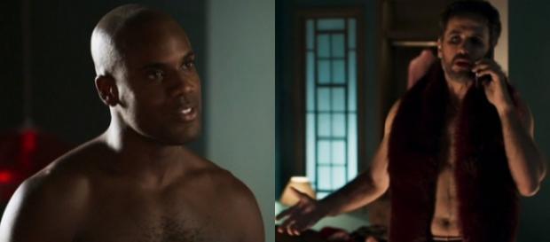 Samuel vai morar junto com Cido em novela. (Foto Reprodução).