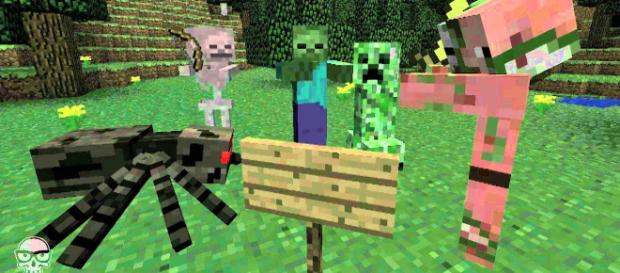 Siege on Castle Steve - Minecraft video YouTube/J!NX