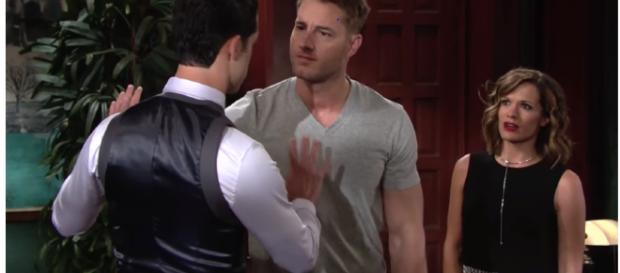 'Y&R' may be setting viewers up for Adam's return. - [YR Wotldwide fans / YuTube screencap]