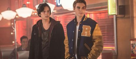 Jughead (Cole Sprouse) and Archie (KJ Apa) for 'Rvierdale'/Photo used with permission, 'Riverdale'/The CW