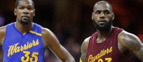 LeBron James hace una declaración impactante sobre Kevin Durant.
