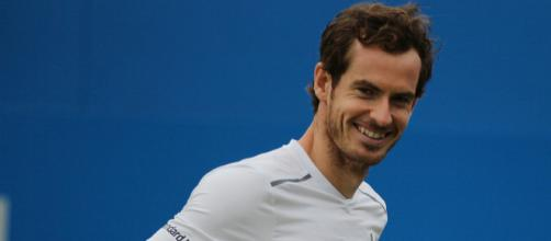 Andy Murray smiling. Image Credit: Marianne Bevis, Flickr -- CC BY-ND 2.0