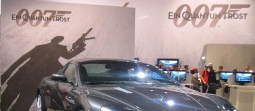 Aston Martin DBS James Bond (Image credit – Piotr Wtodarczyk, Wikimedia Commons)