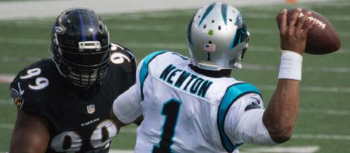 Cam Newton has played a large role in the Panthers' current hot stretch. - [Image Source: Flickr | Keith Allison]