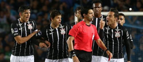 Confusão na Sul-Americana desfalcará Corinthians na Libertadores. (Foto Reprodução).