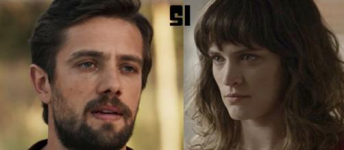 Em 'Outro lado', Renato não quer que Clara feche as minas: 'São esmeraldas!'
