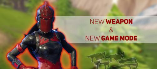 """Fortnite"" Battle Royale is getting a new weapon and a new game mode. Image Credit: Own work"