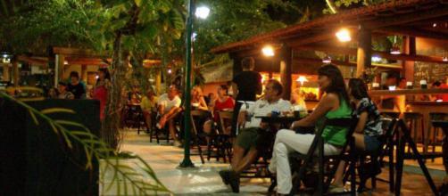 Restaurante na Rua do Mucugê - Arraial d´Ajuda - Bahia