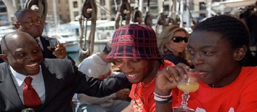 Weah encourage Didier Drogba à emprunter le même chemin que lui
