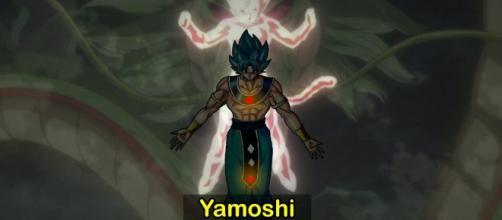 yamoshi, el super saiyajin legendario