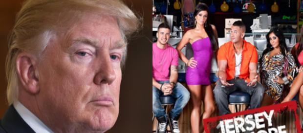 "Donald Trump, ""Jersey Shore,"" via Twitter"