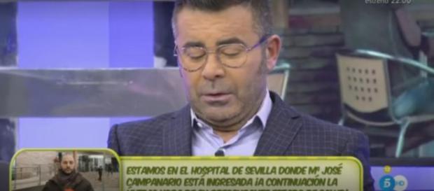 Jorge Javier Vázquez amenazado mientras presenta Sálvame