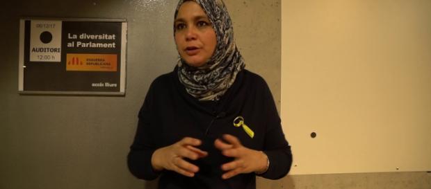 Najat Driouchch Moussa diputada por ERC en Cataluña.