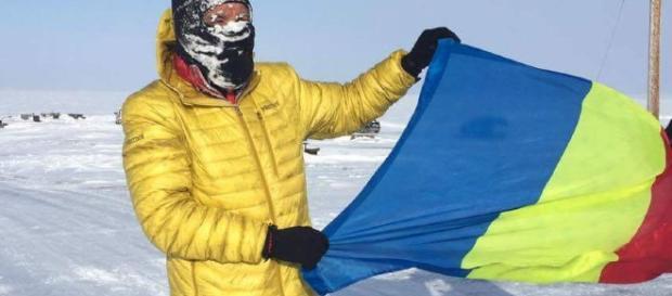 Un ROMAN conduce maratonul de 566 km de la Polul Nord - sport.ro