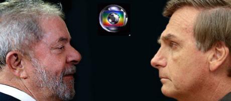Bolsonaro fala em pacto entre Lula e TV Globo. (Foto internet)