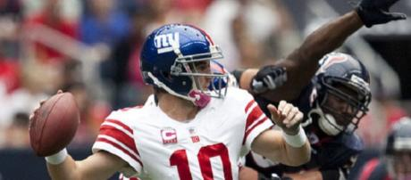 Eli Manning started 210 straight games for the Giants (Image Credit: AJ Guel/WikiCommons)