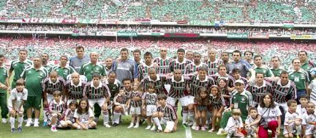 Em 2010, Fluminense conquistou o Campeonato Brasileiro (Foto: SRZD)