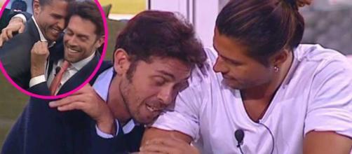GF Vip, la dedica d'amore di Raffaello per Luca