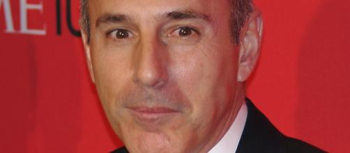 Matt Lauer before his career ended - (Image Credit: David Shankbone/Wikimedia Commons)
