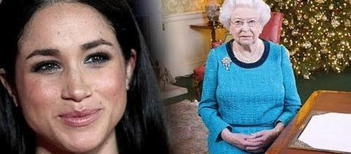 Meghan Markle has been invited to spend Christmas with Queen Elizabeth. - [Image: News 247/YouTube screenshot]
