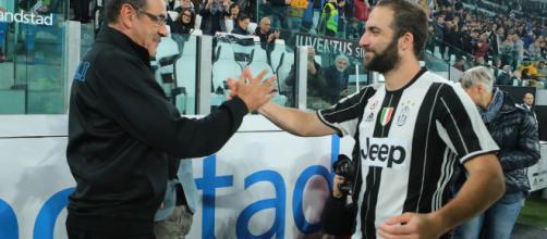 Napoli Juventus Higuain Sarri - corrieredellosport.it