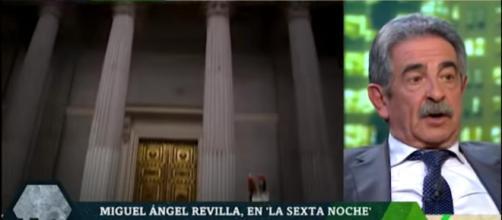 Revilla acusa al gobierno de utilizar el tema de Cataluña
