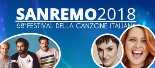 Sanremo 2018 cantanti Big in gara