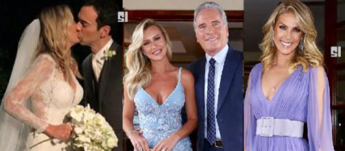 Ticiane Pinheiro, 41, e César Tralli, 46, oficializaram a união neste sábado (2)