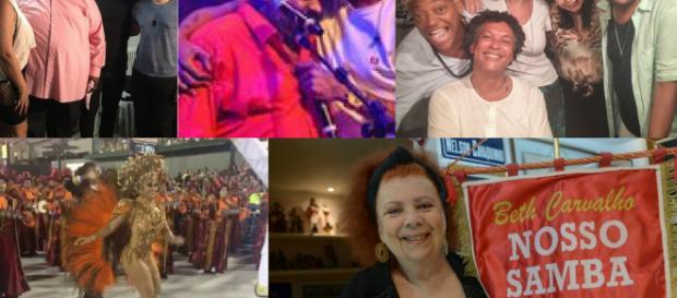 Dia Nacional do samba, muitos registros de amor ao samba. (Foto Reprodução)