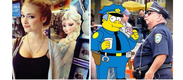 Eles são literalmente idênticos
