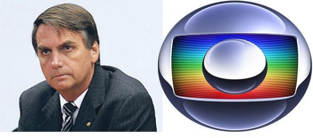 Globo e Bolsonaro estão em pé de guerra