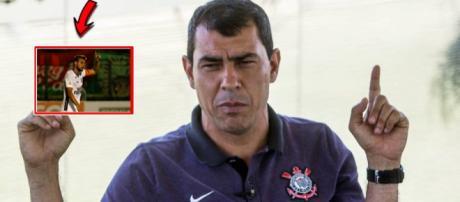 Fábio Carille - treinador do Corinthians. (Foto Reprodução).