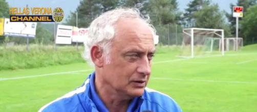 Andrea Mandorlini, allenatore del Verona dal 2010 al 2015