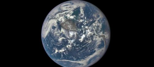Earth from a million miles away (Image via NASA/Flickr]
