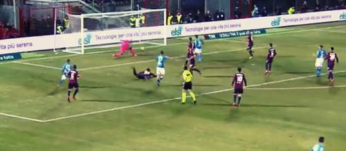 Il gol numero 117 in maglia azzurra di Marek Hamsik vale lo 0-1 contro il Crotone