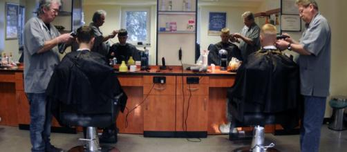 Be nice to your barber and to the people posting your image on Twitter [image credit : spangdahlem.af.mil]