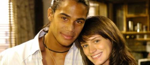 Marina (Bianca Bin) e Luciano (Micael Borges): foi um dos casais protagonistas de Malhação