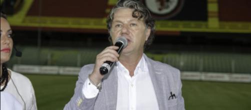 Lucio Fares, presidente del Foggia Calcio - Foto: Antonello Forcelli.
